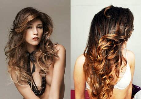 braune haare mit highlights haare braun mit blonden str 228 hnen