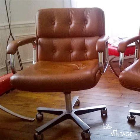 fauteuil de bureau cuir vintage fauteuil de bureau vintage style vaghi hello vintage