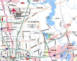 Houston Texas Airport Map