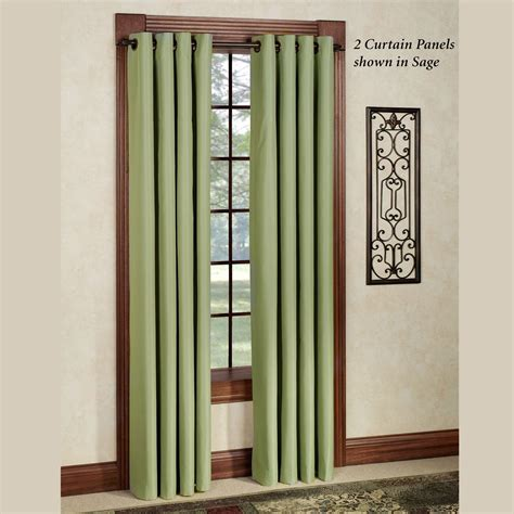 grommet curtain panels thermal elegance grommet curtain panels
