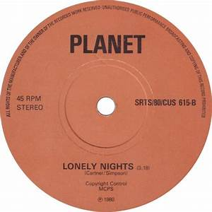 45cat - Planet - Victim Of Time    Lonely Nights - Srt - Uk  80  Cus 615