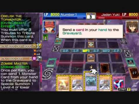yu gi oh gx tag force 3 legendary deck vs jaden yuki youtube