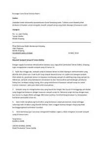 contoh karangan surat