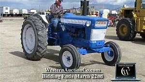 Ford 5000 Tractor For Sale At Auction