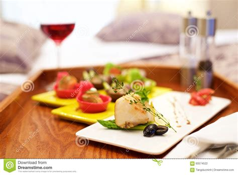 ressort canapé canapé appetizer in bed stock photo image 60574522