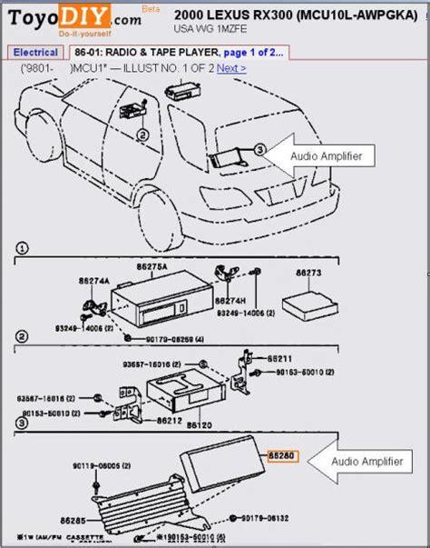 Lexus Fuse Box Auto Wiring Diagram