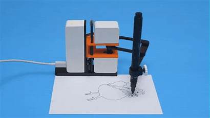 Robot Line Drawing Arm Machine Draw 3d