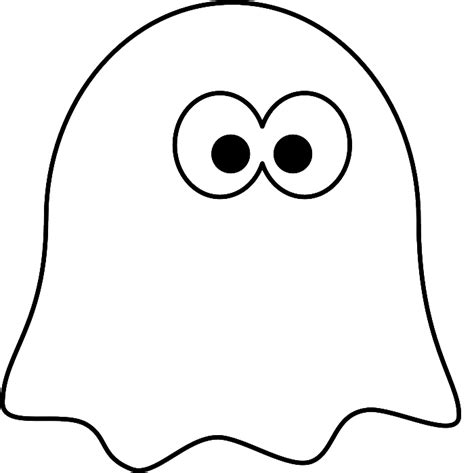 Little Ghost Coloring Pages   Ghost Cartoon Cartoon