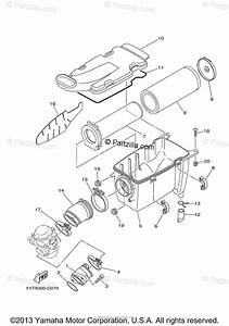 Yamaha Atv 2013 Oem Parts Diagram For Intake