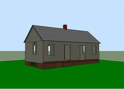 Built Into Cottage Animated Story Outside Dimensional
