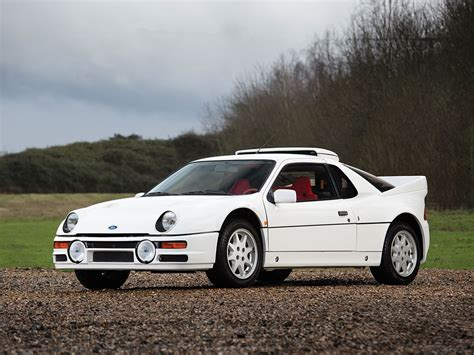 ford rs  rs evolution classic driver market