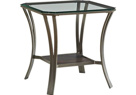 Allie Metal End Table Ashley Furniture Console Table Round Pedestal Coffee Portable Grill Patio Umbrella Stand Side Ping Pong Size Rustic End Tables Cheap Grey Ottoman Cnc Plasma Kit