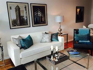 beautiful teal living room decor homesfeed With living room furnishings and design