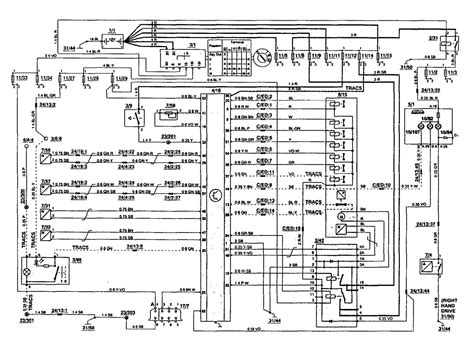 1995 Volvo 850 Wiring Diagram by Volvo 850 1995 Wiring Diagrams Traction Controls