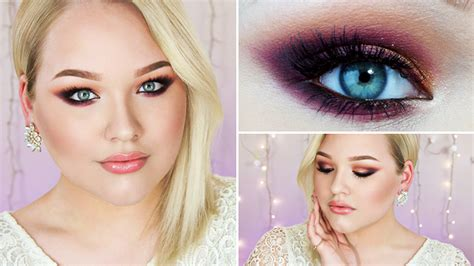 makeup tutorial picture perfect  prom colored