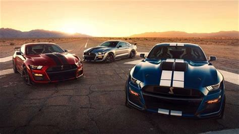 ford debuts 2020 shelby gt500 ford debuts 2020 mustang shelby gt500 its most powerful