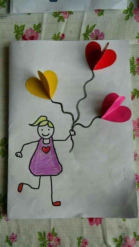 formas de fazer cartao    das maes  criancas