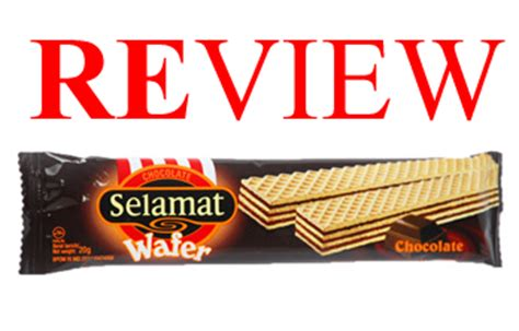 review jajan murah chocolate selamat wafer