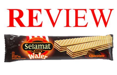 review jajan murah chocolate selamat wafer