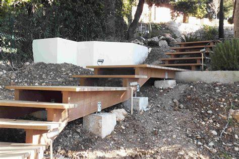 faire un escalier exterieur en bois comment faire un escalier exterieur en bois