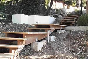 Escalier Extérieur En Bois : comment faire un escalier exterieur en bois ~ Dailycaller-alerts.com Idées de Décoration