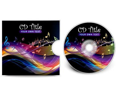 cd cover vector template ai svg eps vector