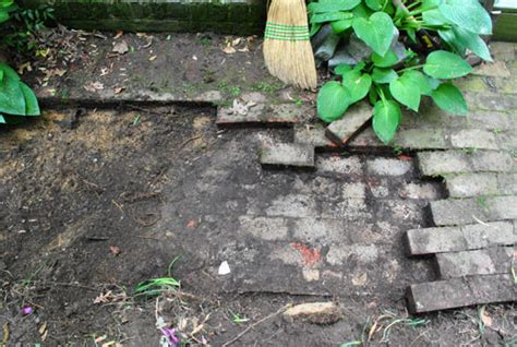 how to install a paver patio digging prepping