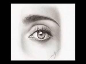 Dessin Facile Yeux : dessin progressif d 39 un oeil au crayon youtube ~ Melissatoandfro.com Idées de Décoration