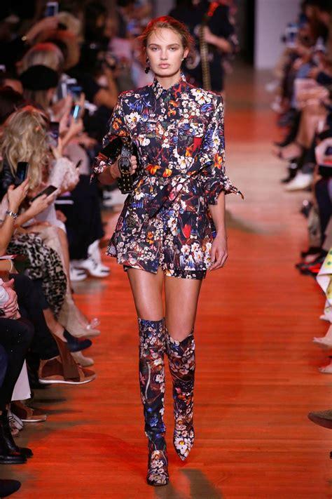 ROMEE STRIJD at Elie Saab Runway Show at Paris Fashion ...