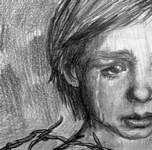 Sad Boy Drawing