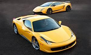 Ferrari Vs Lamborghini : nice and beautiful wallpaper collections exotic racing cars the world today ~ Medecine-chirurgie-esthetiques.com Avis de Voitures