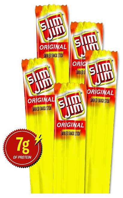 Slim Snack Jim Sticks Smoked