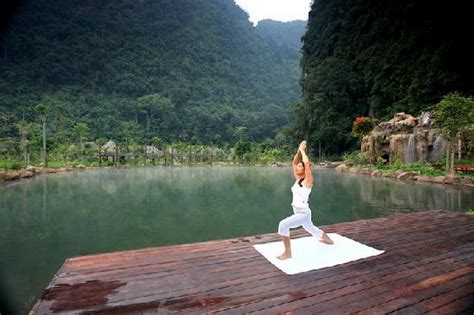 Yoga By Yoga Deck  Picture Of The Banjaran Hotsprings