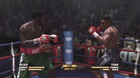 Fight Night Champion Deontay Wilder Vs Mike Tyson Classic ...