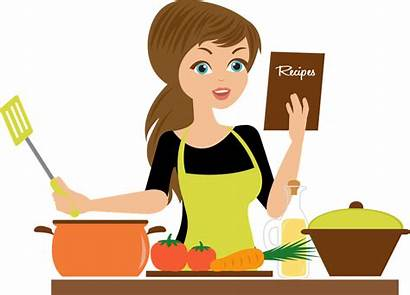 Cooking Cartoon Clipart Kitchen Chef Culinary Baking