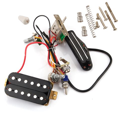 Guitar Wiring Harnes Kit by W Humbucker Wiring Harness Kit Coil For Lp Tl