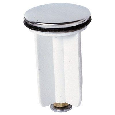 bouchon salle de bain clapet rentrant plastique 216 39mm pour bonde de lavabo castorama