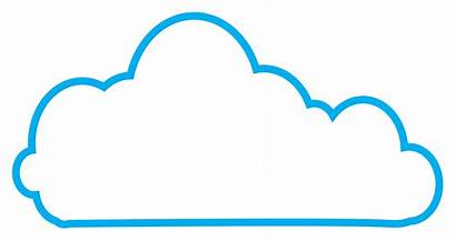 Cloud Graphic Icon Clipground Vector