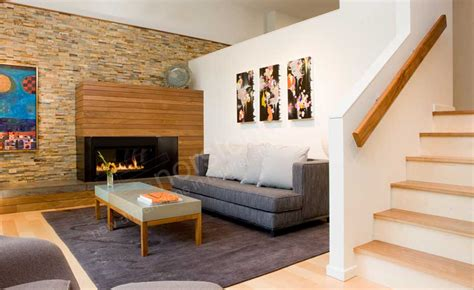 modern fireplace surround ideas on interior design ideas for liberary room stacked veneer fireplace stack