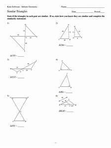 Kuta Software Right Triangles Geometric Mean