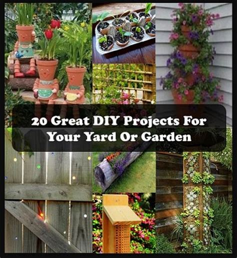 craft home and garden ideas 20 great diy projects for