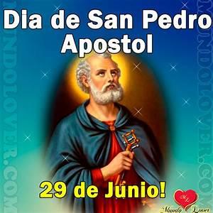 San Pedro Apostol Cartel de Dios Cartel para Compartir MundoLover