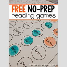 Free Reading Games For Bossy R Words  The Measured Mom