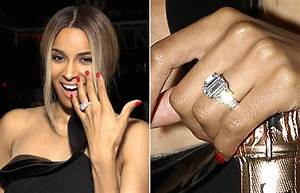 a big photo for a big rock see ciaras engagement ring With ciara wedding ring