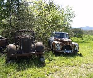 Old Abandoned Cars and Trucks