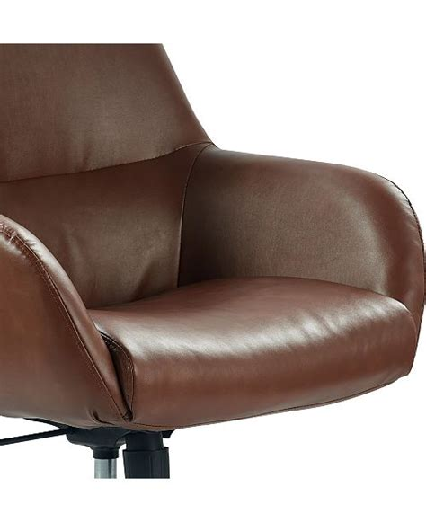 Office Chairs Macys by Hilfiger Forester Leather Office Chair Ship
