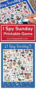 I Spy Sunday Printable Game | Sunday school activities ...