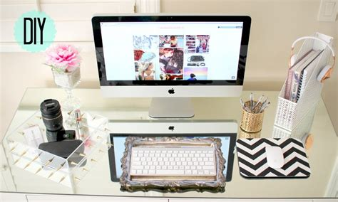 girly office desk accessories interior home design all about home decoration ideas for