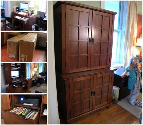 woodwork computer desk hutch woodworking plans  plans
