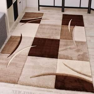 Tapis Beige Salon : tapis de salon pas cher contemporain et design ~ Teatrodelosmanantiales.com Idées de Décoration